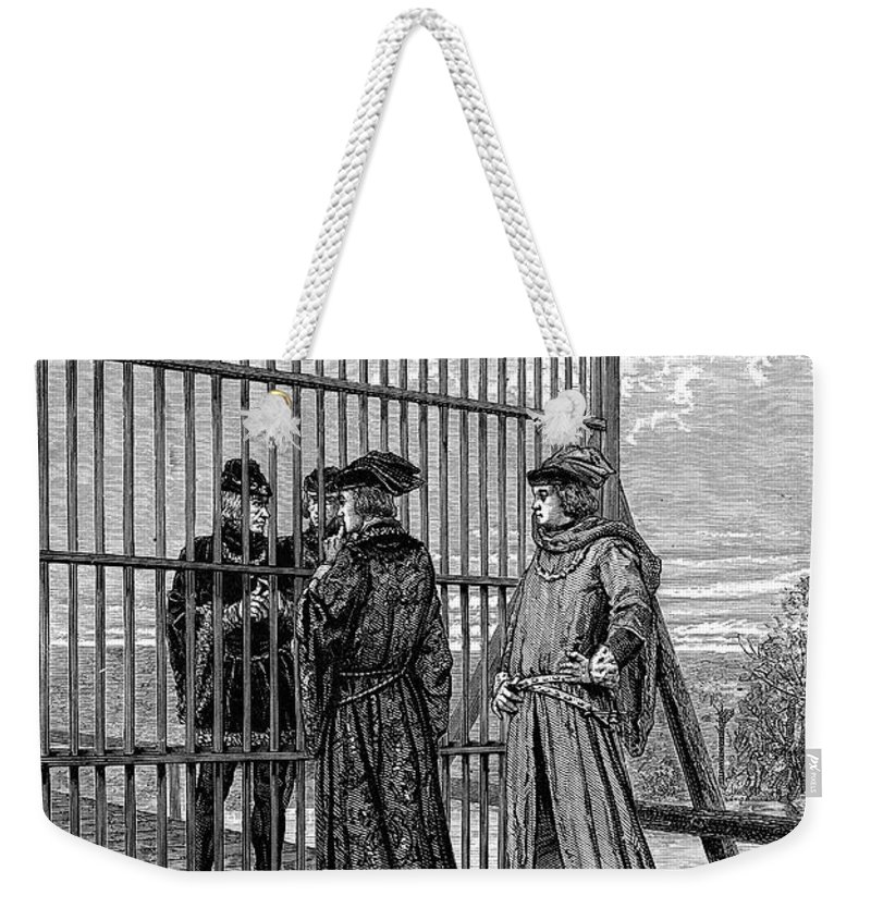 1475 Weekender Tote Bag featuring the photograph Treaty Of Picquigny by Granger