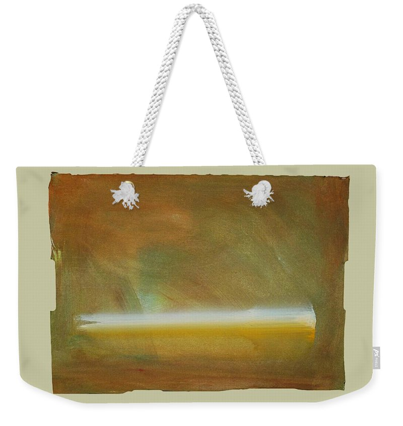 Tsunami Weekender Tote Bag featuring the painting Turner Tide by Charles Stuart