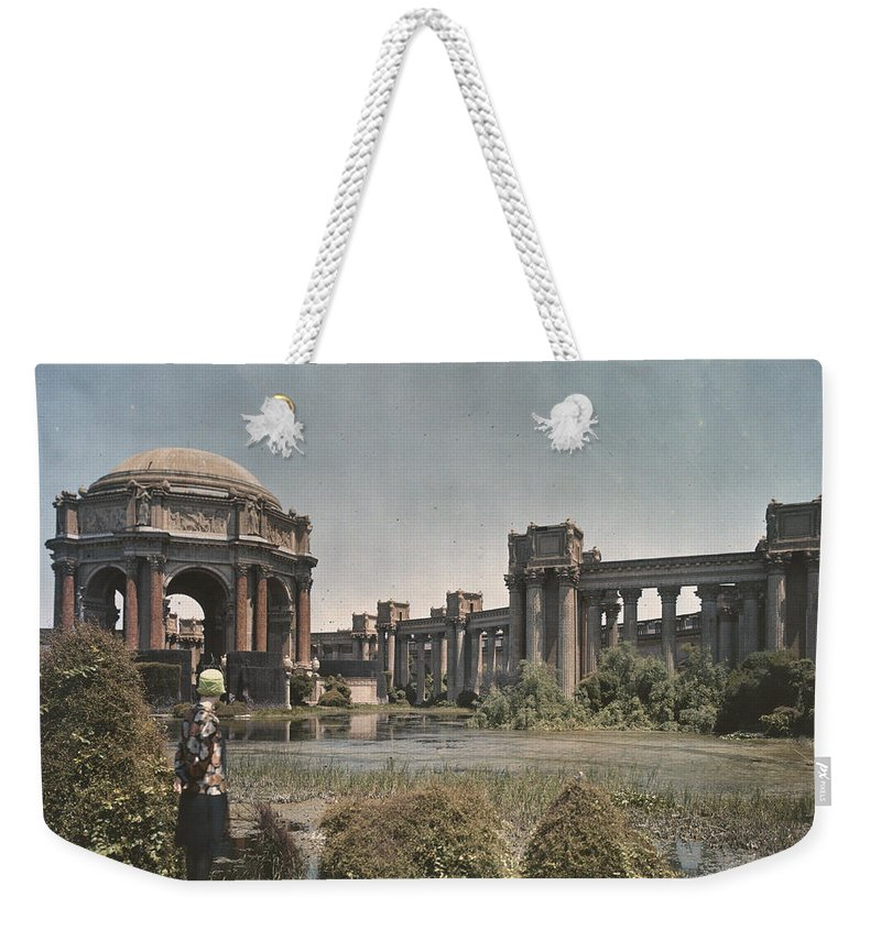 Weekender Tote Bag featuring the photograph Untitled by Charles Martin
