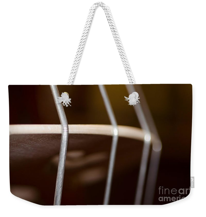 Violoncello Weekender Tote Bag featuring the photograph Violoncello by Mats Silvan