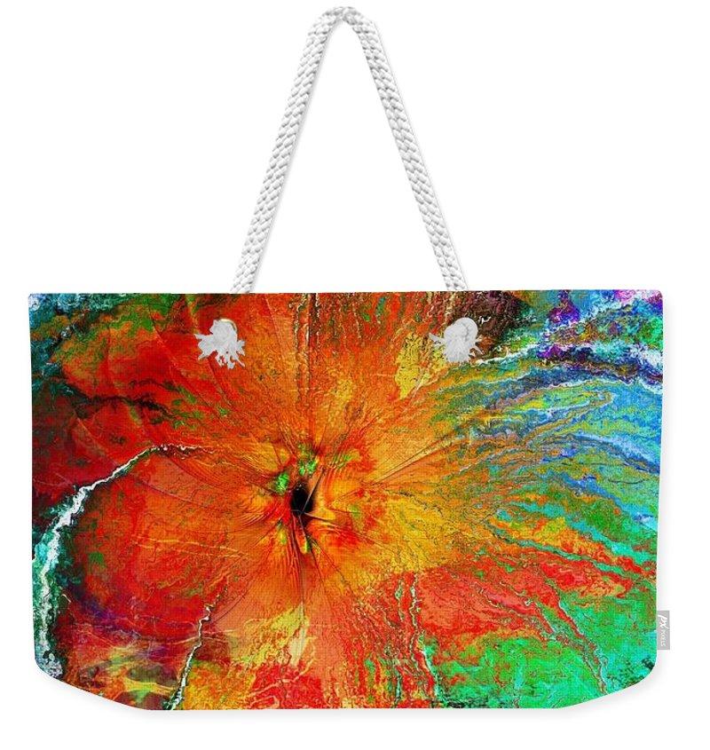 Digital Art Weekender Tote Bag featuring the digital art Will You Love Me Tomorrow by Amanda Moore