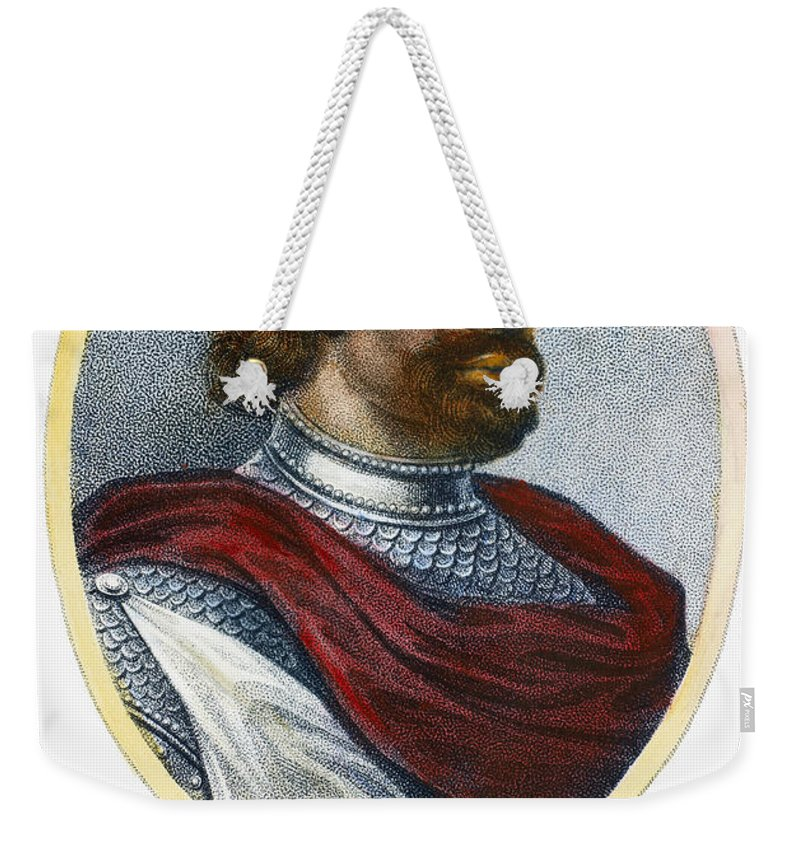 11th Century Weekender Tote Bag featuring the photograph William II (1056-1100) by Granger