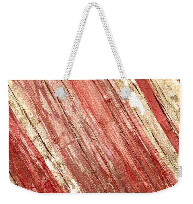 Wood Weekender Tote Bag featuring the photograph Wood Texture by Gaspar Avila