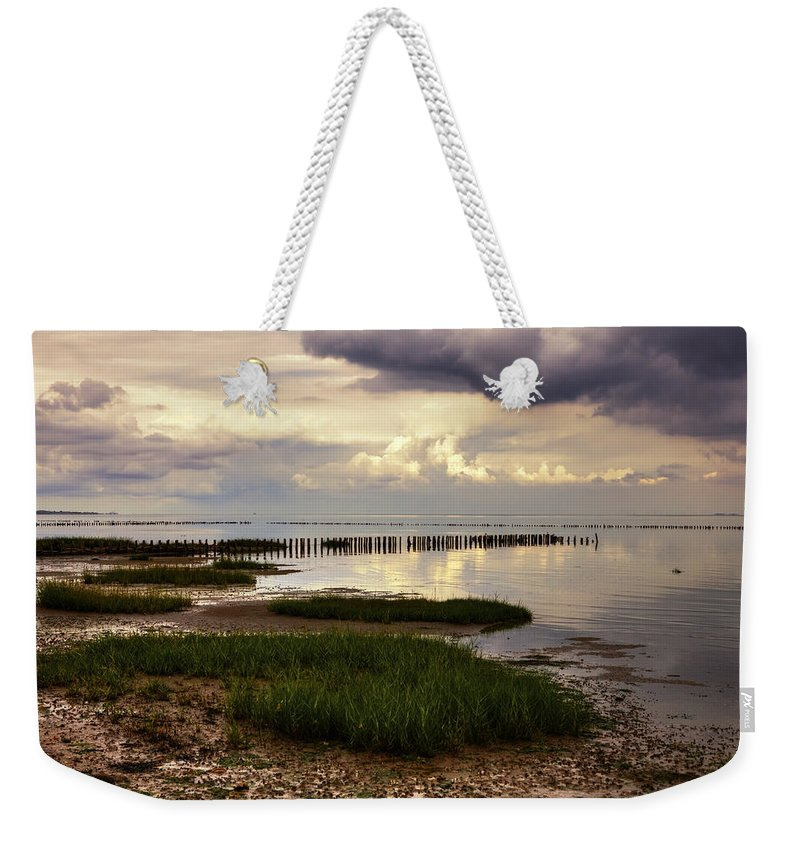 Wadden Sea Weekender Tote Bag featuring the photograph Kampen - Sylt by Joana Kruse