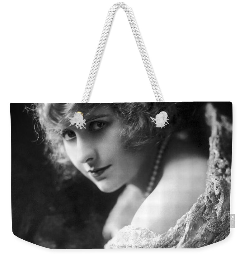 -nec13- Weekender Tote Bag featuring the photograph Pearl White (1889-1938) by Granger