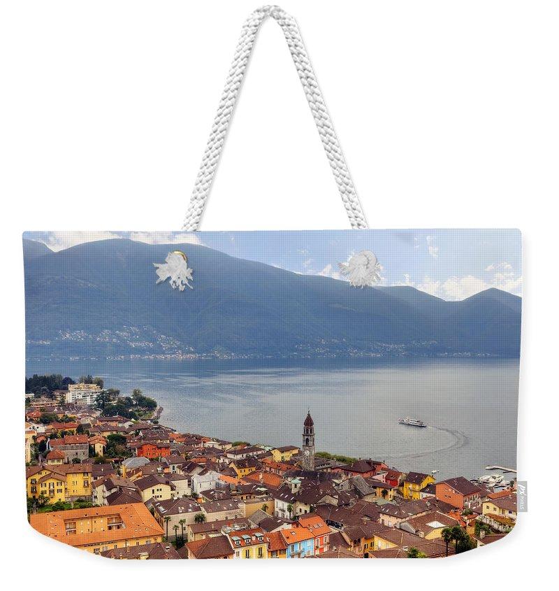 Ascona Weekender Tote Bag featuring the photograph Ascona - Ticino by Joana Kruse