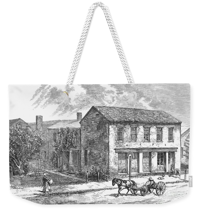 1876 Weekender Tote Bag featuring the photograph Rutherford B. Hayes by Granger