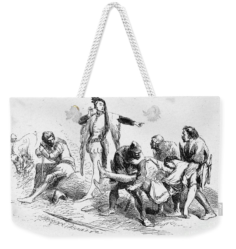 16th Century Weekender Tote Bag featuring the photograph Shakespeare: Henry Iv by Granger