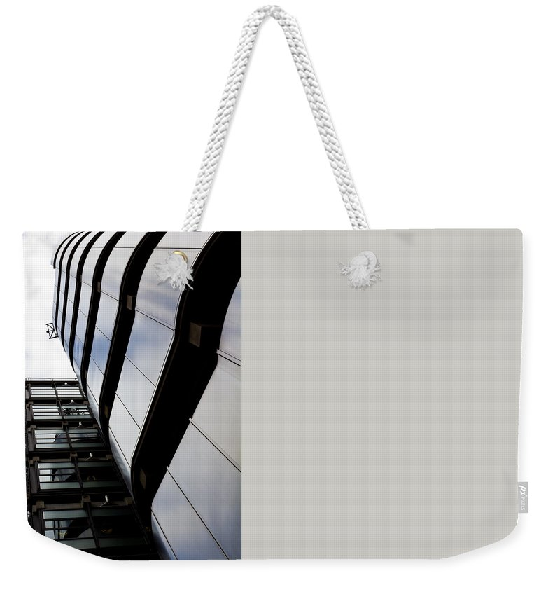 Lloyds Weekender Tote Bag featuring the photograph Lloyds Building London by David Pyatt