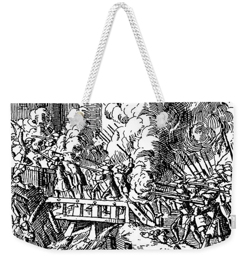 1702 Weekender Tote Bag featuring the photograph John Churchill (1650-1722) by Granger