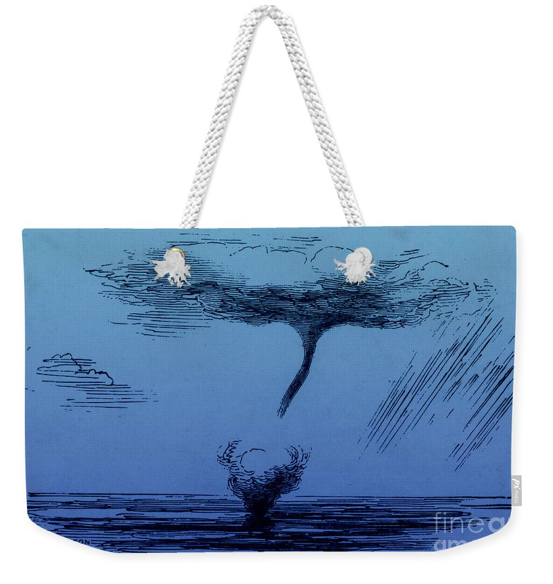 Weather Weekender Tote Bag featuring the photograph Waterspout by Science Source