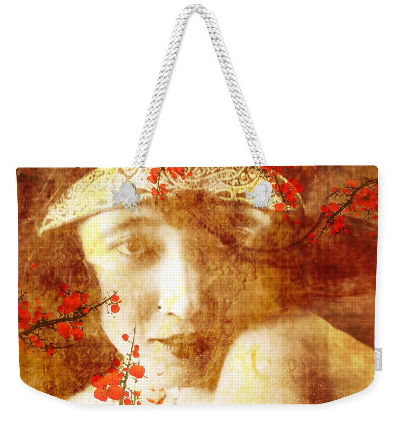 Nostalgic Seduction Weekender Tote Bag featuring the photograph Winsome Women by Chris Andruskiewicz
