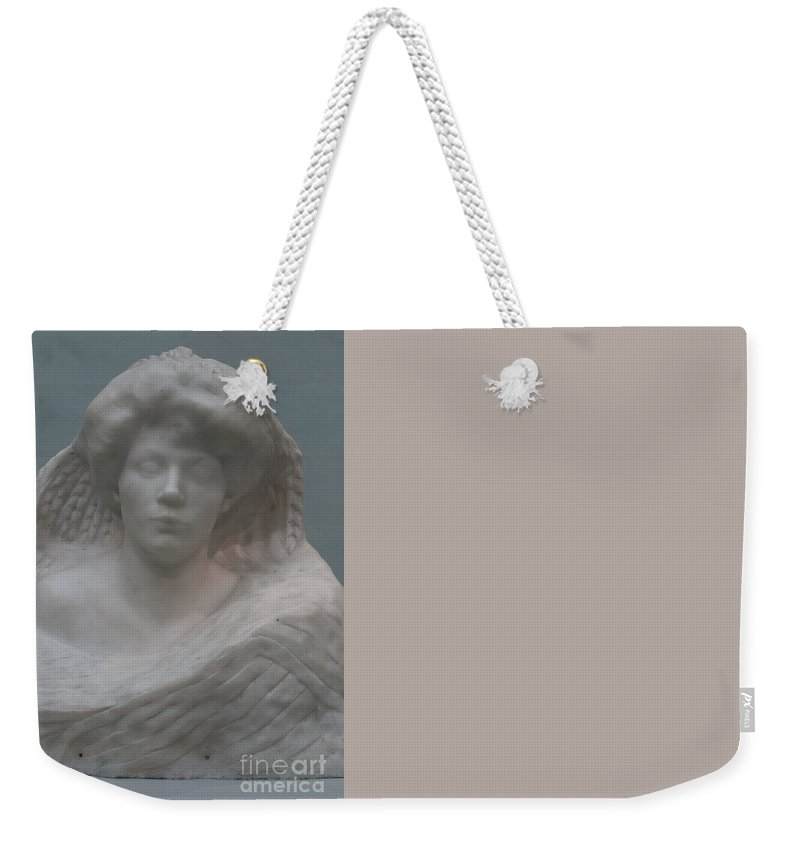 California Weekender Tote Bag featuring the digital art Legion Of Honor Museum San Francisco by Carol Ailles