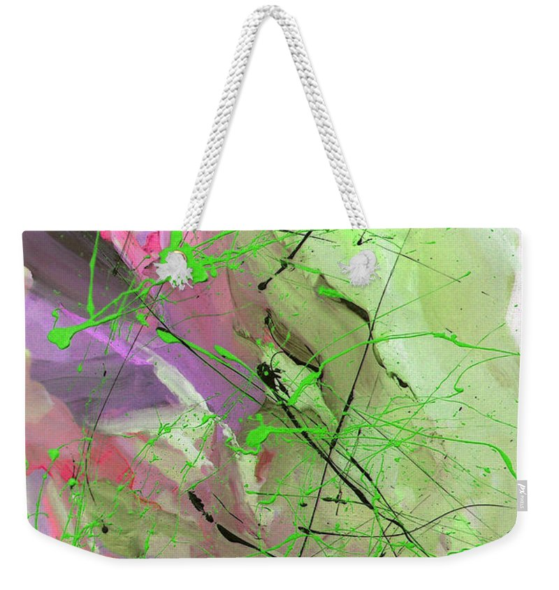 Australian Weekender Tote Bag featuring the painting 1st Symphony Of The Voyage Of The Stars by Giro Tavitian