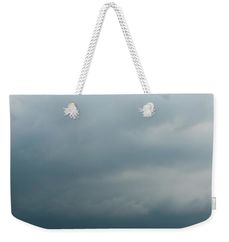 Cloud Weekender Tote Bag featuring the photograph After Rain by Svetlana Sewell