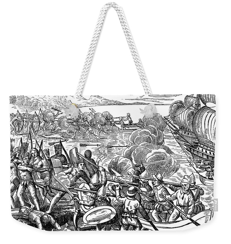 1499 Weekender Tote Bag featuring the photograph Amerigo Vespucci (1454-1512) by Granger
