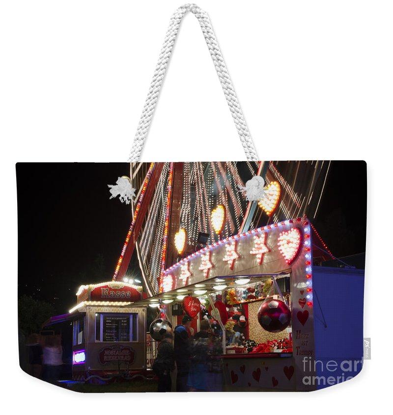 Amusement Park Weekender Tote Bag featuring the photograph Amusement Park by Mats Silvan