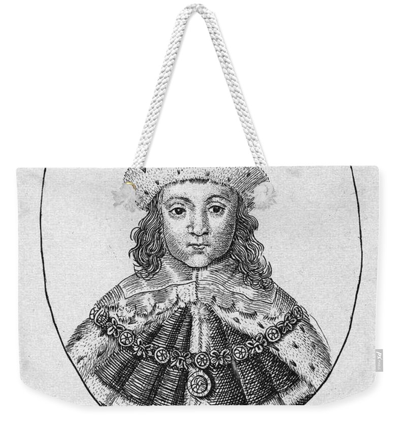 1610 Weekender Tote Bag featuring the photograph Charles I (1600-1649) by Granger