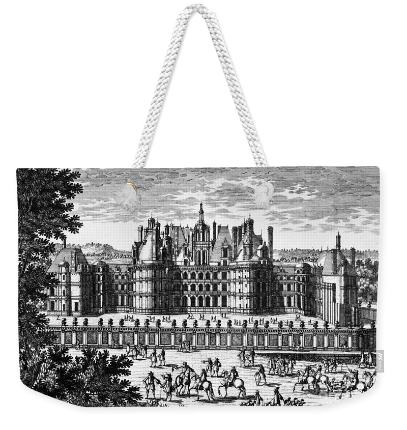 16th Century Weekender Tote Bag featuring the photograph Chateau De Chambord by Granger