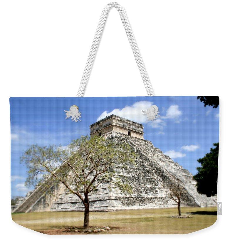 Chichen Itza Weekender Tote Bag featuring the photograph Chichen Itza by Chris Brannen