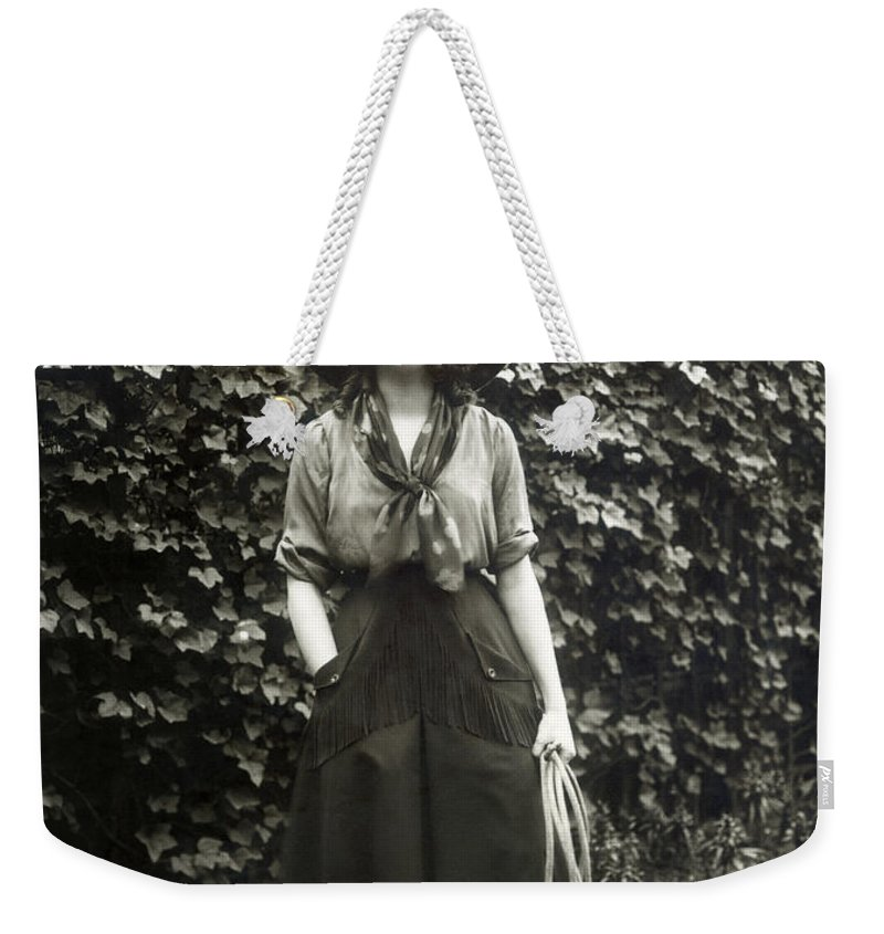 20th Century Weekender Tote Bag featuring the photograph Elsie Janis (1889-1956) by Granger