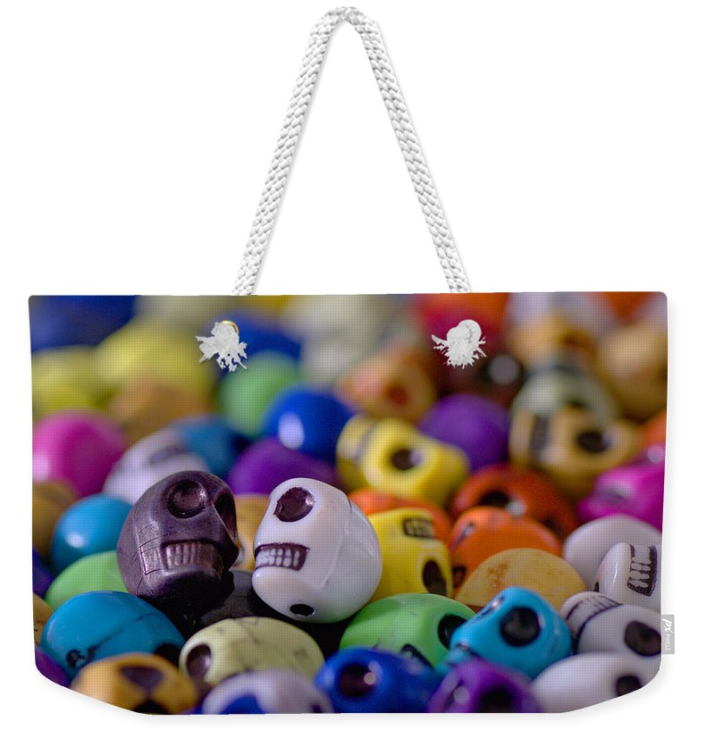 Smiles Weekender Tote Bag featuring the photograph Friends by Mike Herdering