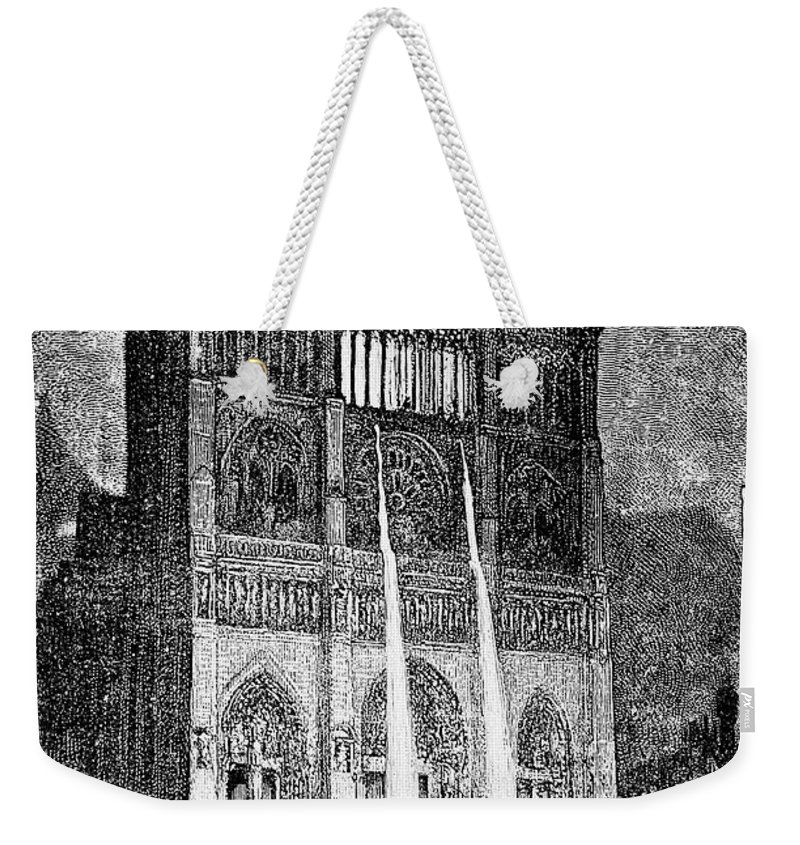 1831 Weekender Tote Bag featuring the photograph Hunchback Of Notre Dame by Granger
