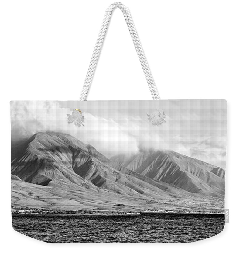 Landscape Weekender Tote Bag featuring the photograph Maui Pano by Scott Pellegrin