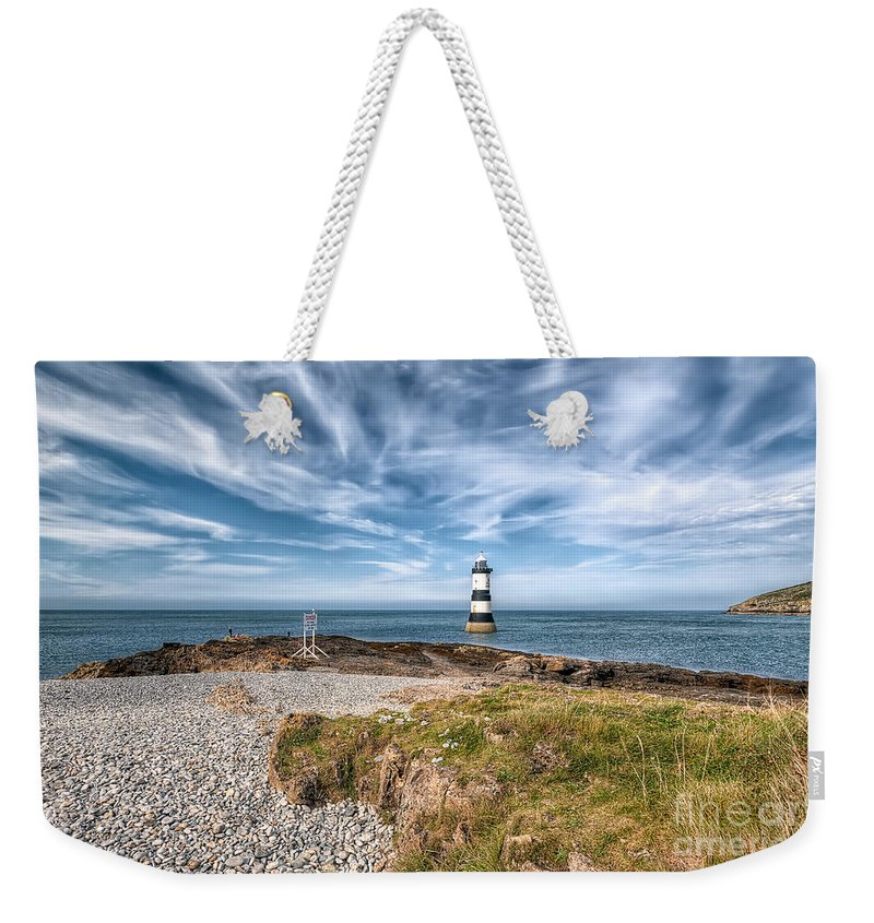 Anglesey Weekender Tote Bag featuring the photograph Penmon Point by Adrian Evans