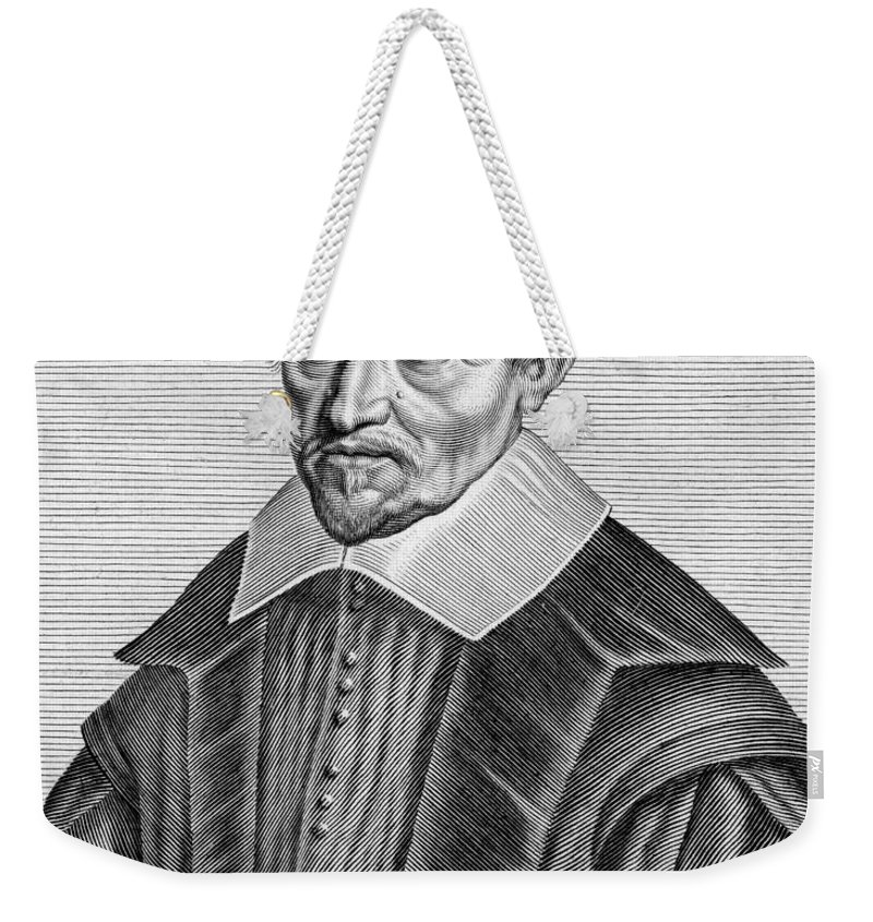 Art Weekender Tote Bag featuring the photograph Pierre Gassendi, French Polymath by Science Source