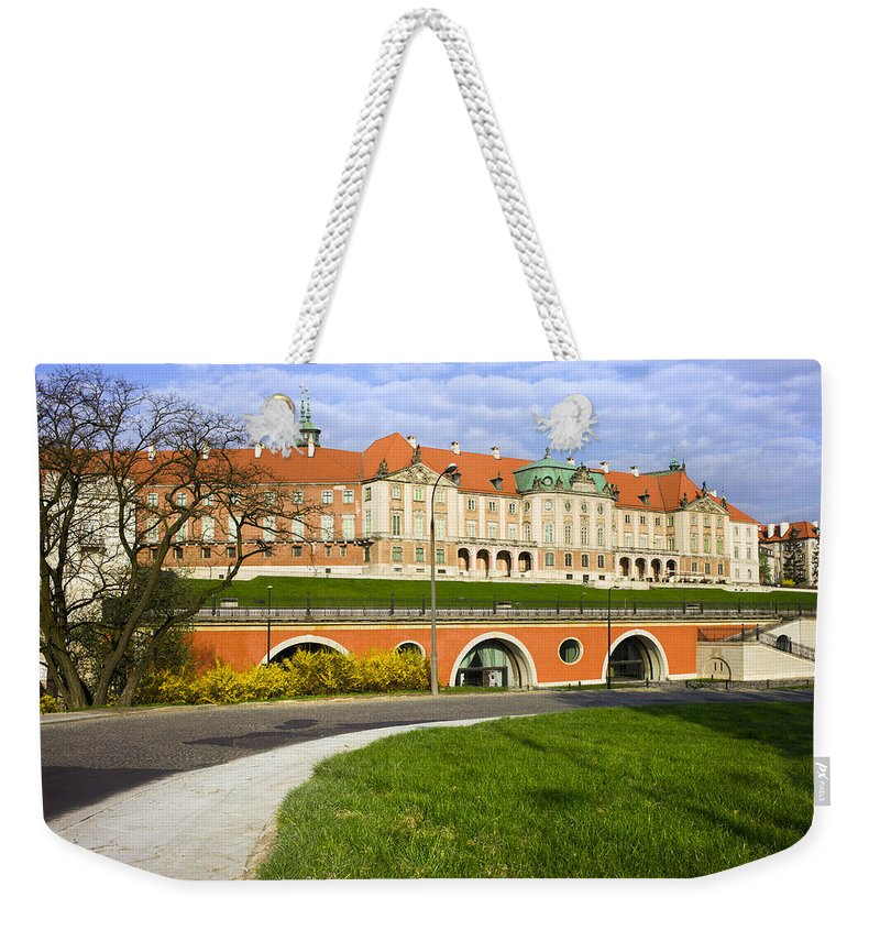 Warsaw Weekender Tote Bag featuring the photograph Royal Castle In Warsaw by Artur Bogacki