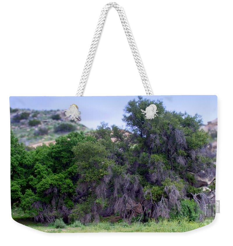Santa Weekender Tote Bag featuring the photograph Santa Susana Mountains by Henrik Lehnerer