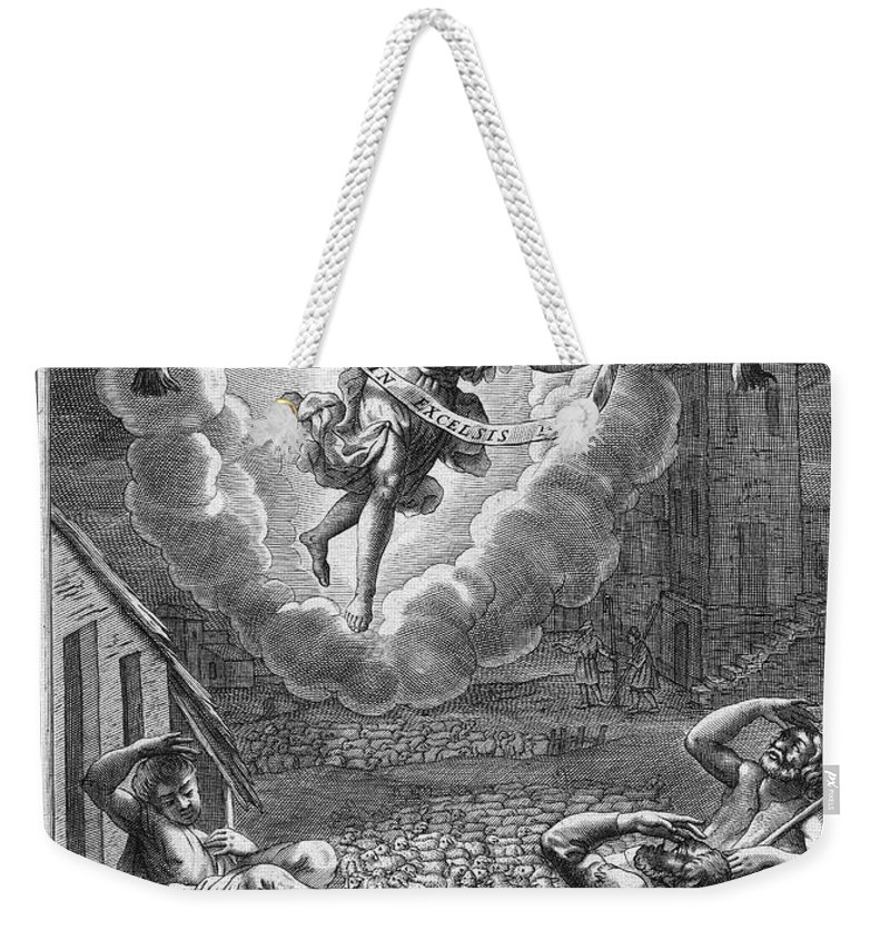 1688 Weekender Tote Bag featuring the photograph Annunciation To Shepherds by Granger