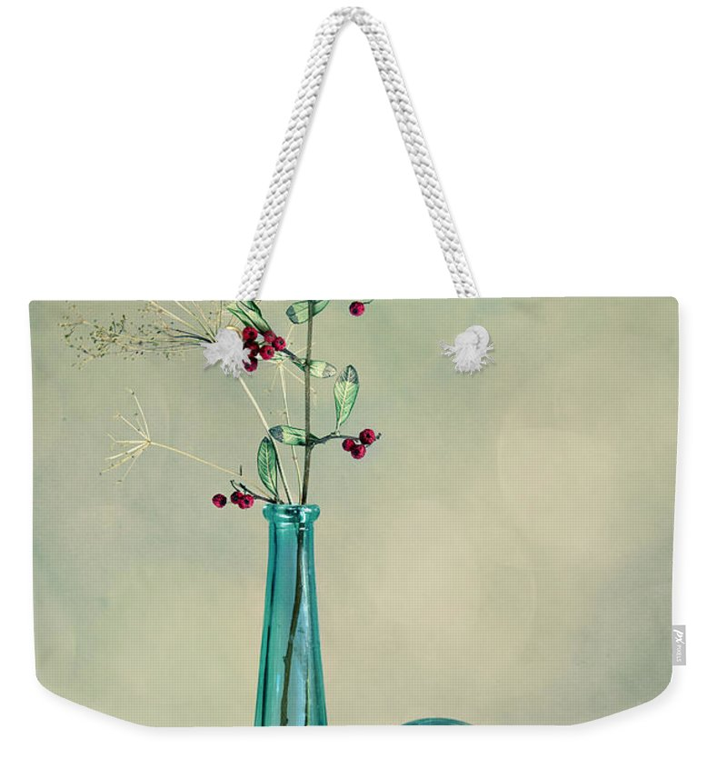 Glass Weekender Tote Bag featuring the photograph Autumn Still Life by Nailia Schwarz