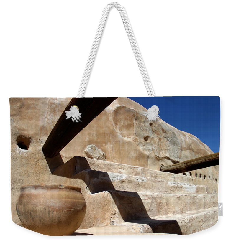 Clay Weekender Tote Bag featuring the photograph Clay Pot by Carol Leigh