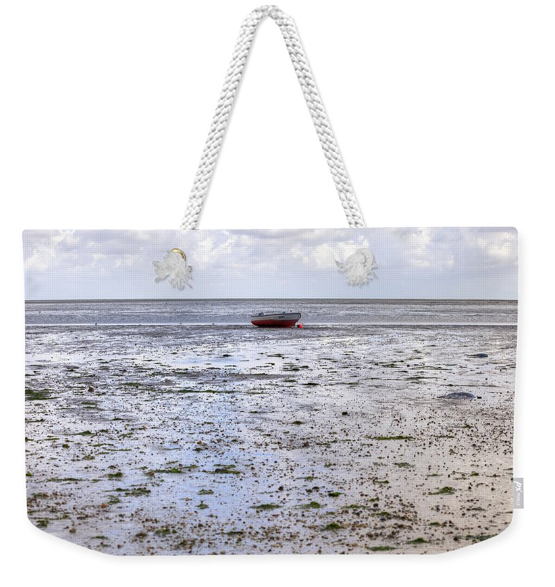 Wadden Sea Weekender Tote Bag featuring the photograph Munkmarsch - Sylt by Joana Kruse