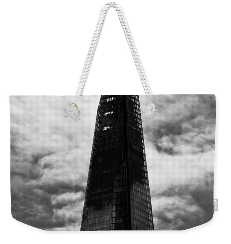 Shard Weekender Tote Bag featuring the photograph The Shard by David Pyatt