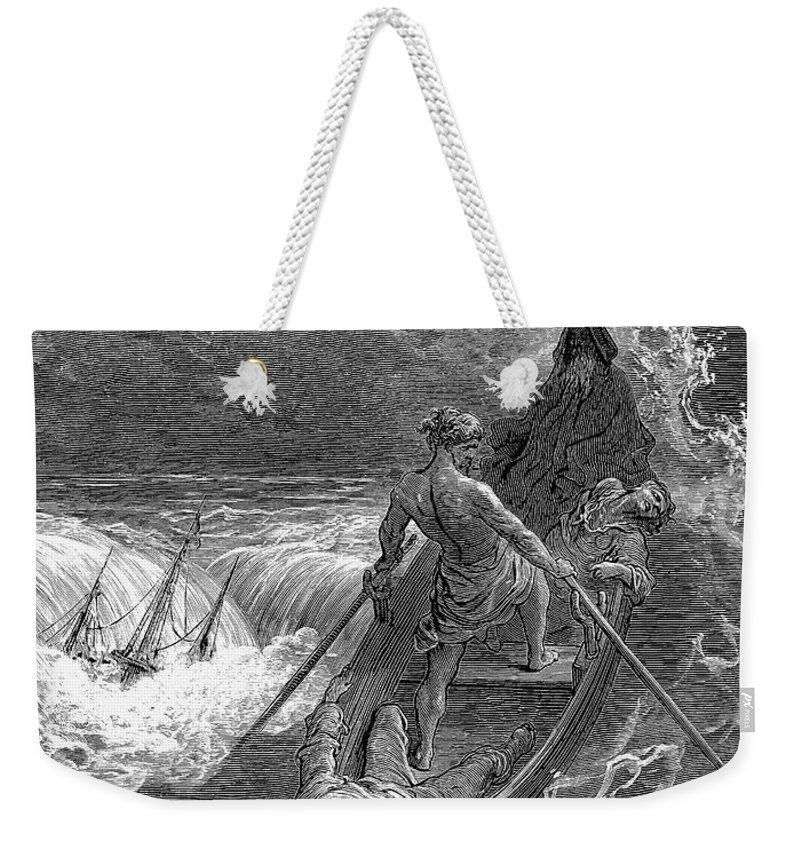 19th Century Weekender Tote Bag featuring the photograph Coleridge: Ancient Mariner by Granger