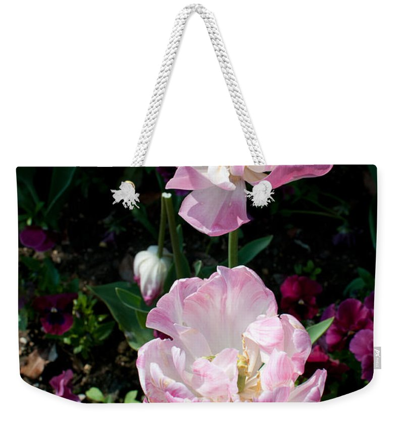 France Giverny Weekender Tote Bag featuring the digital art Giverney by Carol Ailles