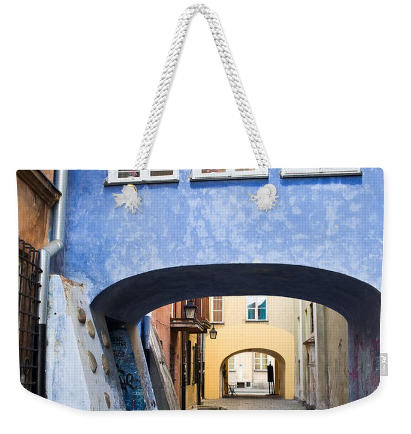 Town Weekender Tote Bag featuring the photograph Old Town In Warsaw by Artur Bogacki