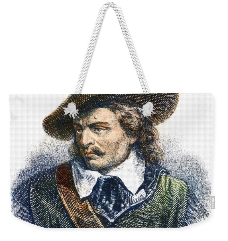 Cromwell Weekender Tote Bag featuring the photograph Oliver Cromwell (1599-1658) by Granger