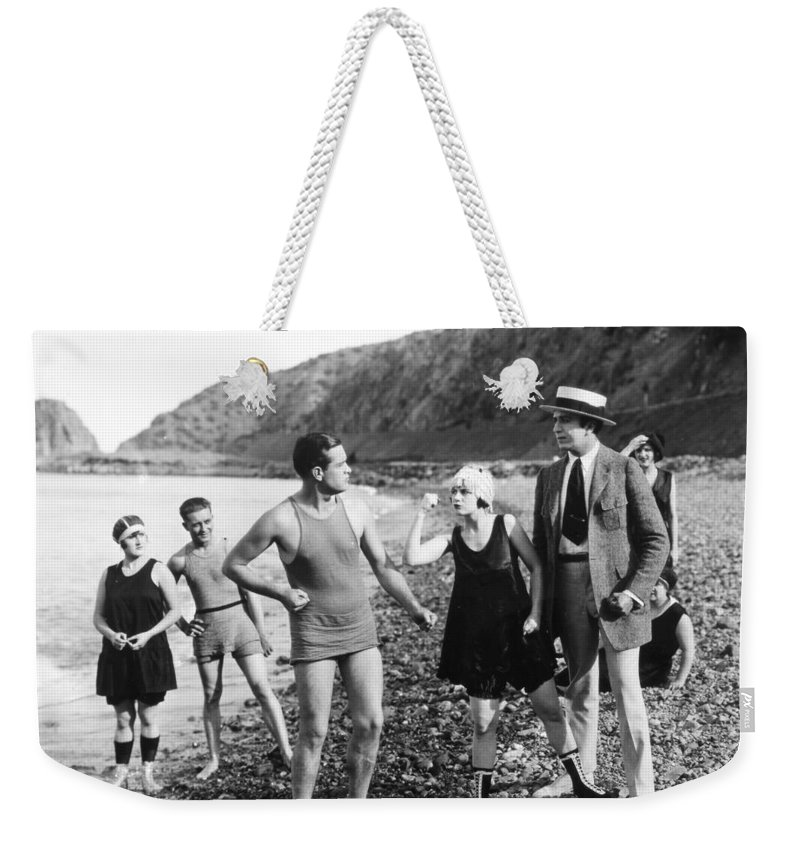 -beaches- Weekender Tote Bag featuring the photograph Silent Still: Beach by Granger