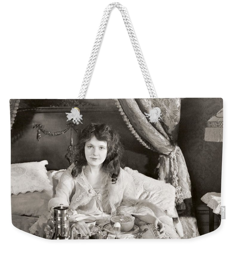 -bedrooms- Weekender Tote Bag featuring the photograph Silent Still: Bedroom by Granger