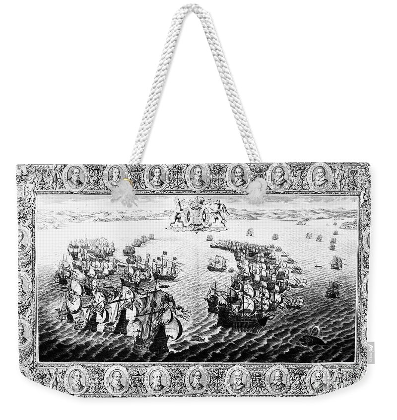 1588 Weekender Tote Bag featuring the photograph Spanish Armada, 1588 4 by Granger