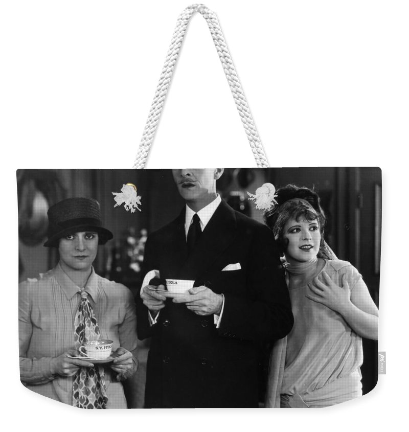 -eating & Drinking- Weekender Tote Bag featuring the photograph Film Still: Eating & Drinking by Granger