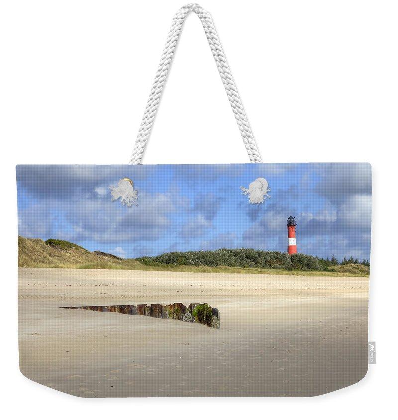 Hornum Weekender Tote Bag featuring the photograph Hoernum - Sylt by Joana Kruse