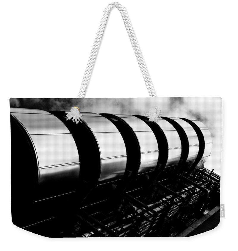 Lloyds Weekender Tote Bag featuring the photograph Lloyds Of London Building by David Pyatt