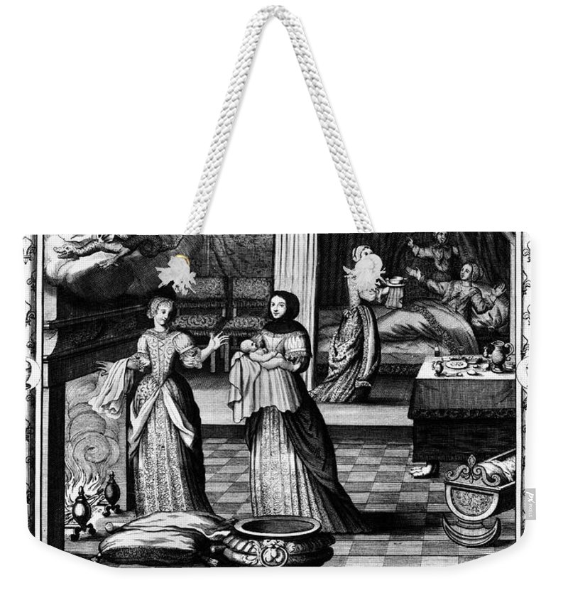 1674 Weekender Tote Bag featuring the photograph Louis, Dauphin Of France by Granger