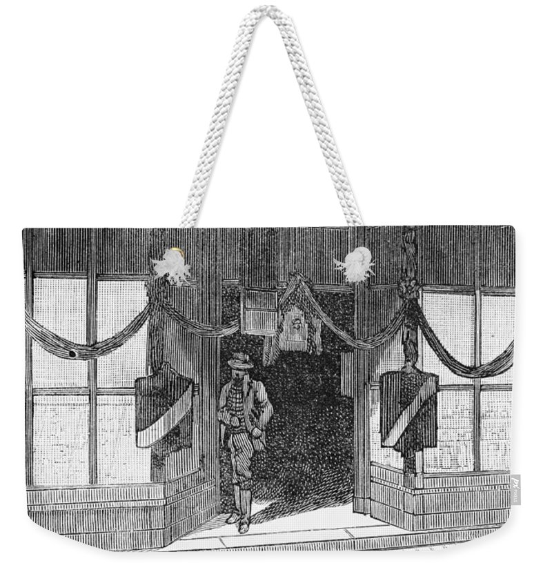 1885 Weekender Tote Bag featuring the photograph Ulysses S. Grant by Granger