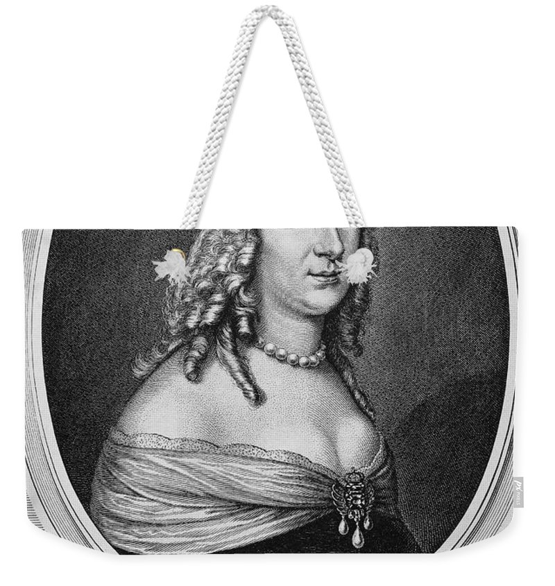 1649 Weekender Tote Bag featuring the photograph Christina (1626-1689) by Granger